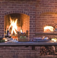 lake mary florida wood burning pizza oven builder